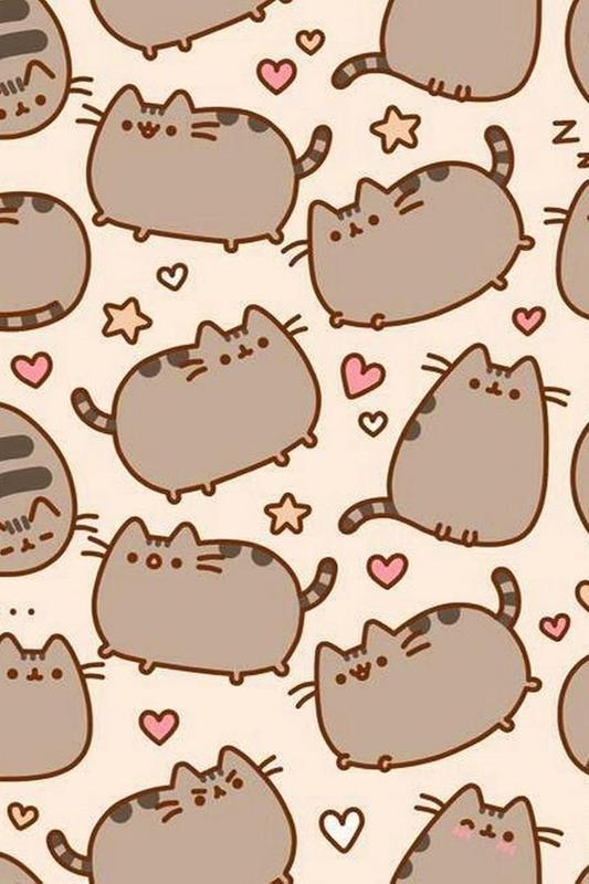 ... Cute Pusheen Cat wallpaper HD screenshot 5 ...
