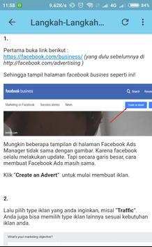 Tutorial dan Panduan Facebook Ads Bagi Pemula screenshot 3