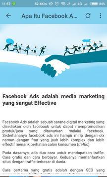 Tutorial dan Panduan Facebook Ads Bagi Pemula screenshot 1