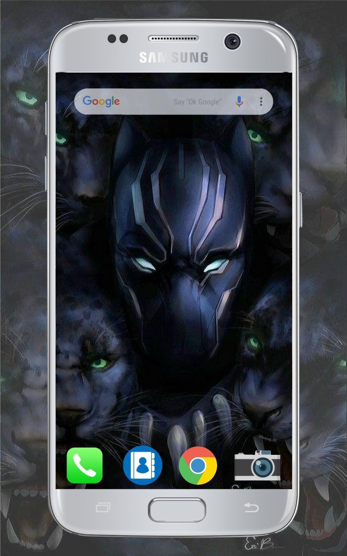Black Panther Wallpaper Hd Fur Android Apk Herunterladen