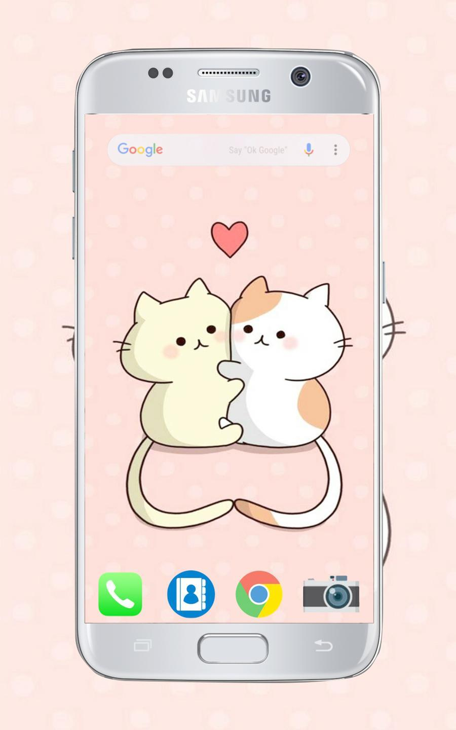 Best Cute Chibi Cat Wallpapers Hd For Android Apk Download