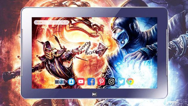 HD Mortal Wallpapers Kombat screenshot 10