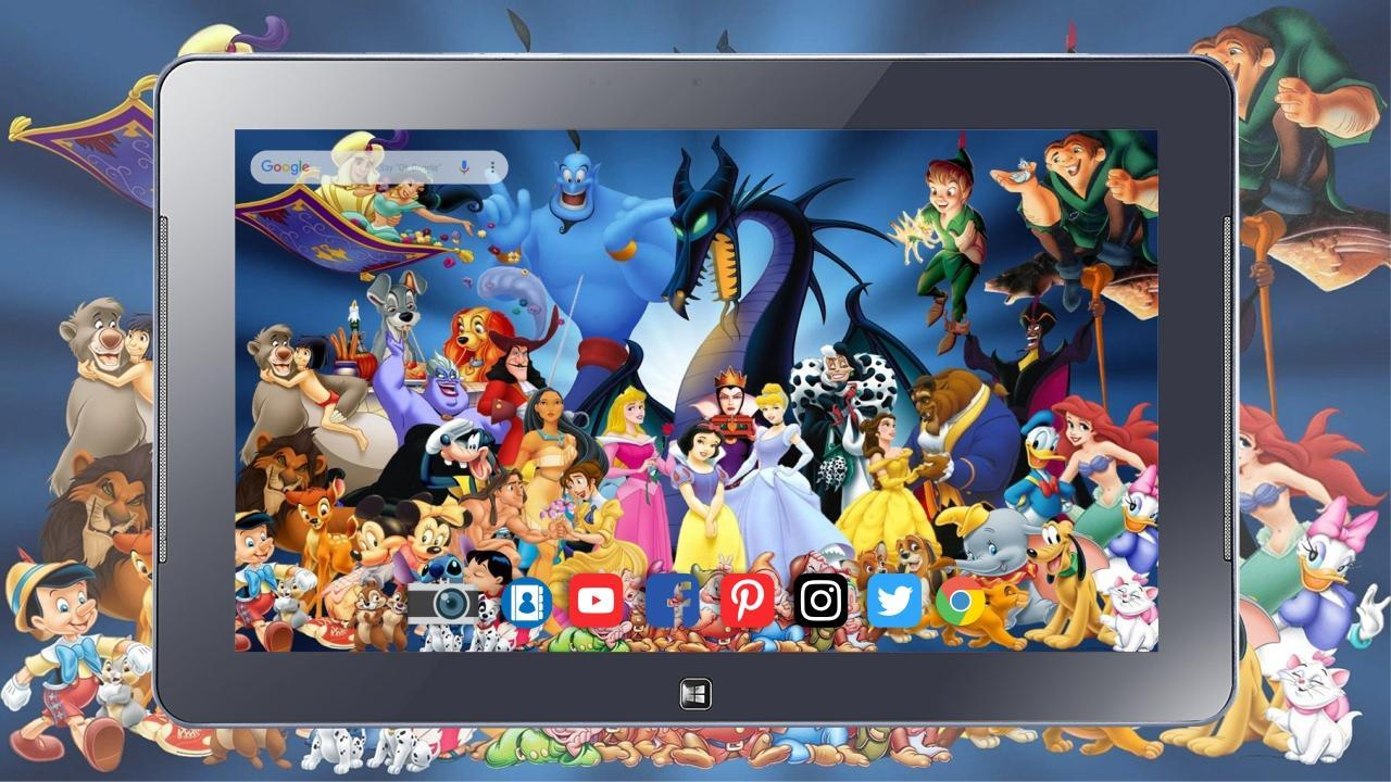 Disney Characters Wallpapers For Android Apk Download