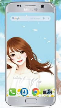 Cute Laurra Girl Wallpapers poster