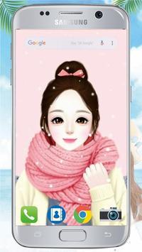 Cute Laurra Girl Wallpapers screenshot 1