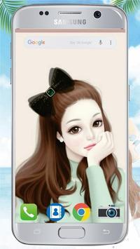 Cute Laurra Girl Wallpapers screenshot 4