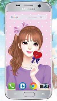 Cute Laurra Girl Wallpapers screenshot 5