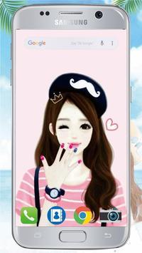 Cute Laurra Girl Wallpapers screenshot 6