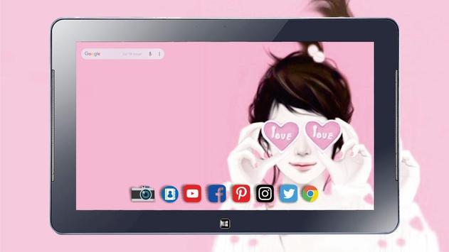 Cute Laurra Girl Wallpapers screenshot 8