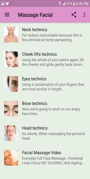 Massage Facial screenshot 1