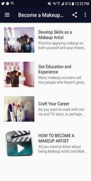 Become a Makeup Artist screenshot 1