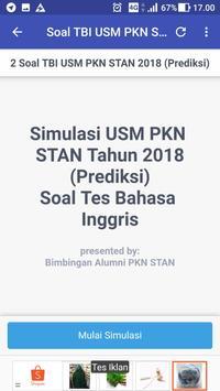 Soal Prediksi USM PKN STAN 2018 Sistem CAT screenshot 3