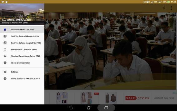 Soal Prediksi USM PKN STAN 2018 Sistem CAT screenshot 10
