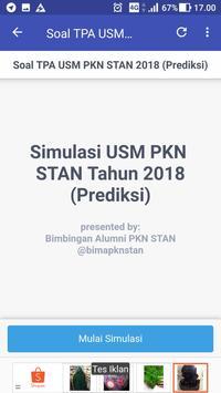 Soal Prediksi USM PKN STAN 2018 Sistem CAT screenshot 2