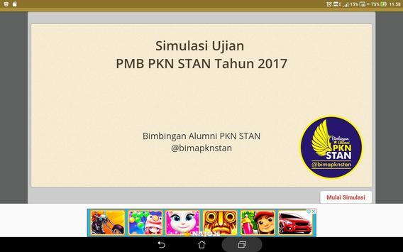 Soal Prediksi USM PKN STAN 2019 Sistem CAT screenshot 5