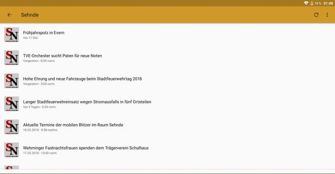 Sehnde-News screenshot 4