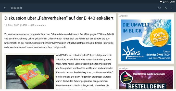Sehnde-News screenshot 5