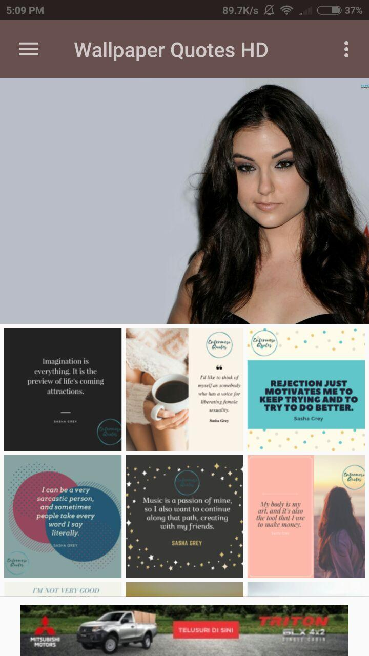 Sasha Grey Wallpaper Quotes For Android Apk Download