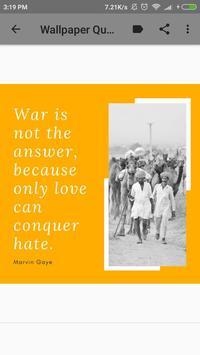 Marvin Gaye Biography and Wallpaper Quotes screenshot 1