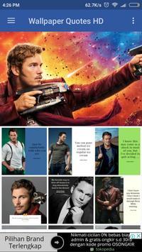 Chris Pratt Biography and Wallpaper Quotes screenshot 1