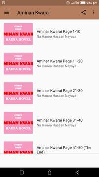 Aminan Kwarai screenshot 1