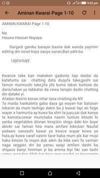 Aminan Kwarai - Hausa Novel apk screenshot