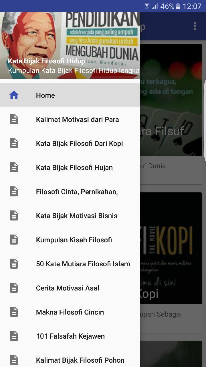 Kumpulan Kata Filosofi Kehidupan Fur Android Apk Herunterladen