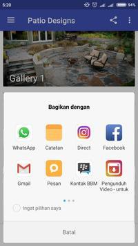 Patio Design Ideas apk screenshot