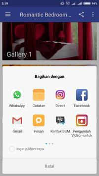 Romantic Bedroom Ideas apk screenshot