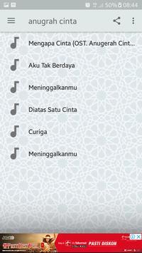 Lagu Ost. Sinetron Anugerah Cinta (Audio Mp3) screenshot 2