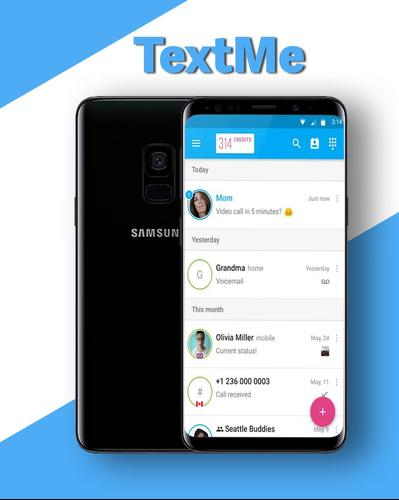 New TextMy Call Free Text Free for Android - APK Download