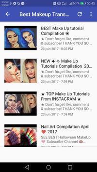 MakeUp Videox screenshot 1