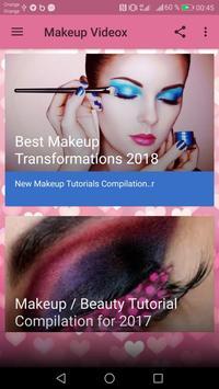 MakeUp Videox screenshot 5