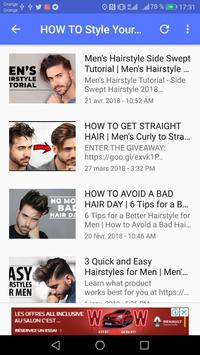 Men's hair hotvideos screenshot 8