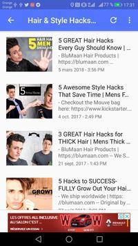 Men's hair hotvideos screenshot 9