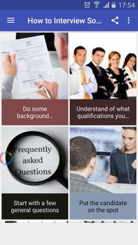 How to Interview Someone poster