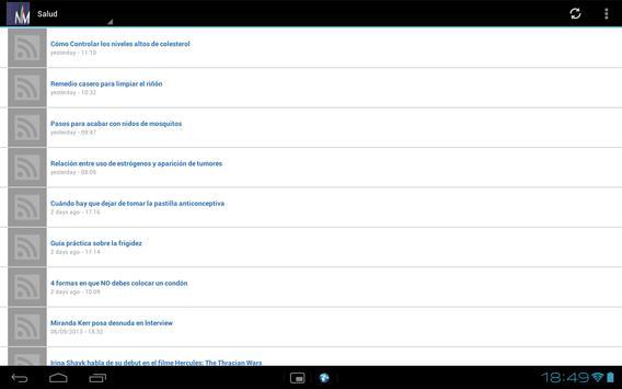 EspectaculosMX apk screenshot