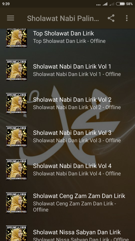 download mp3 sholawat nariyah paling merdu