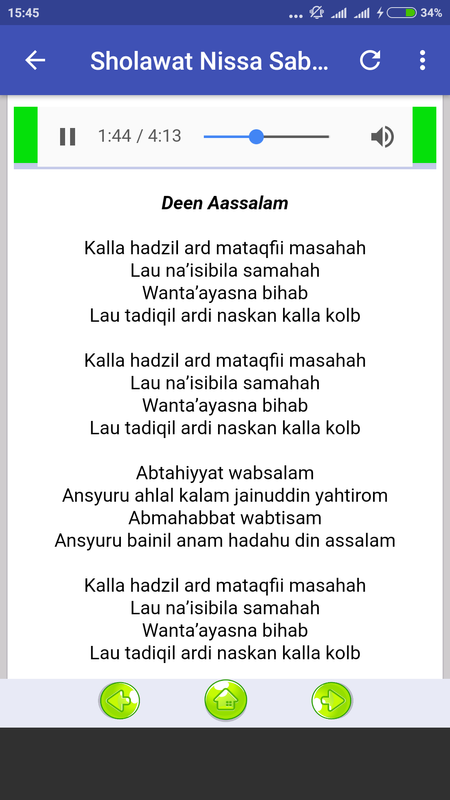 download lagu nissa sabyan deen assalam mp3