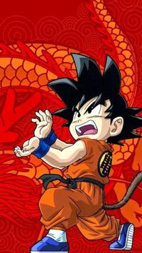 Goku Kid-Dragon Wallpaper HD screenshot 2