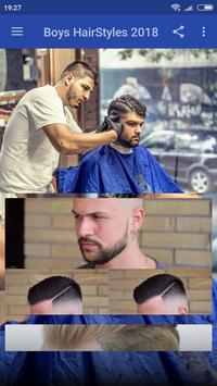 Latest Boys HairStyles 2018 poster