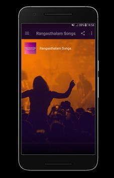 Rangasthalam  Songs poster