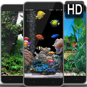 Aquarium  Wallpaperlive icon