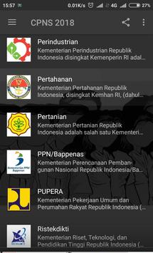 Menuju CPNS 2018 screenshot 1