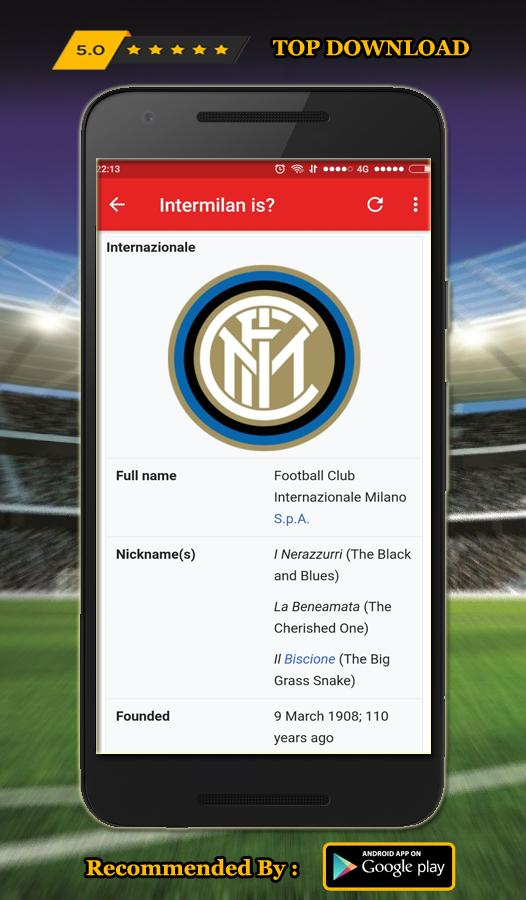 Best Wallpaper Inter Milan Hd 2018 For Android Apk Download