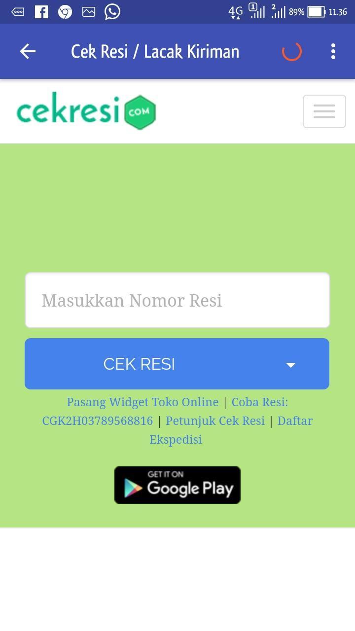 Cek Ongkir JNE, TIKI, POS (All Kurir) TERLENGKAP for Android - APK ...