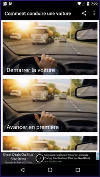 Comment conduire une voiture poster