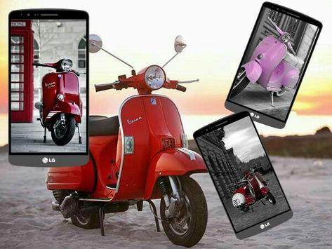 Scooter And Vespa Mania Hd Wallpaper For Android Apk Download