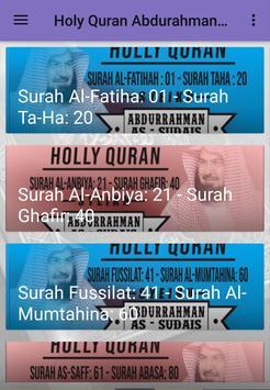 Holy Quran Sheikh Al Sudais Full poster