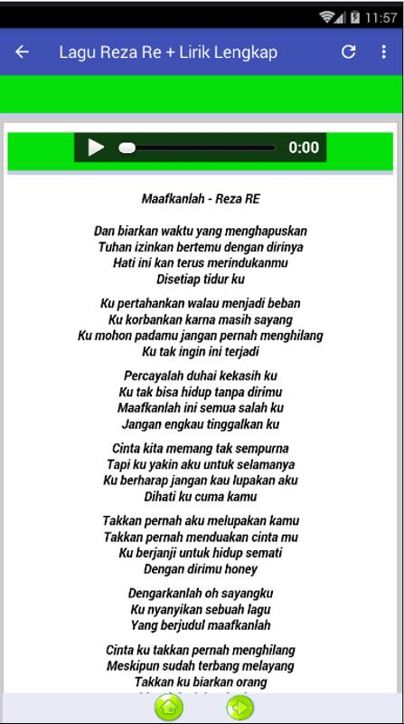 Lirik Lagu Maafkanlah